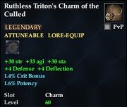 Ruthless Triton's Charm of the Culled