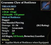 Gruesome Claw of Pestilence