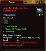 Apostle's Plate Gloves of Commitment