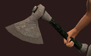 Iron Assault Axe (Equipped)