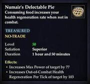 Numair's Delectable Pie