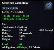 Somborn Grubstake (Examine)