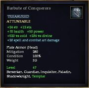 Barbute of Conquerors