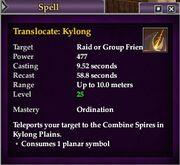 Translocate- Kylong