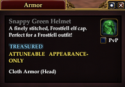 Snappy Green Helmet