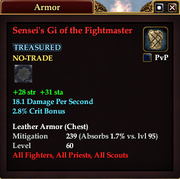 Sensei's Gi of the Fightmaster