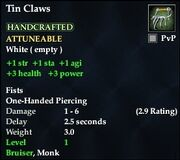 Tin Claws