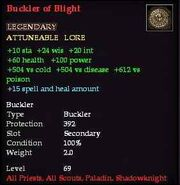 Buckler of Blight