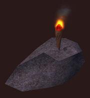An Oggokian Torch Placed