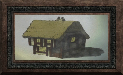 File:Fine Painting of a Stone Building (Visible).jpg