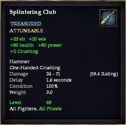 Splintering Club