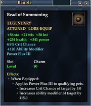Bead of Summoning