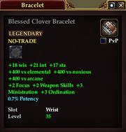 Blessed Clover Bracelet