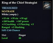 Ring of the Chief Strategist