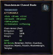 Thundermaw Clawed Boots