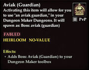 Aviak (Guardian) - Boss