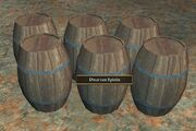 Barrels of Dwarven Spirits