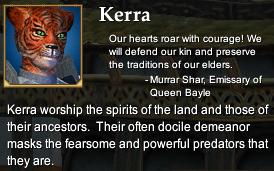 Kerra (Character Race)