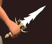 Growth Dragon Hunter's Dagger (Equipped)