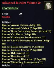 Advanced Jeweler Volume 20