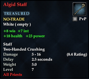 Algid Staff