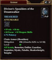 Diviner's Spaulders of the Dreamwalker