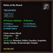 Helm of the Reach
