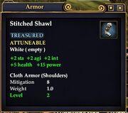 Stitched Shawl