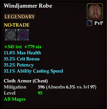 EQ2 Windjammer Robe
