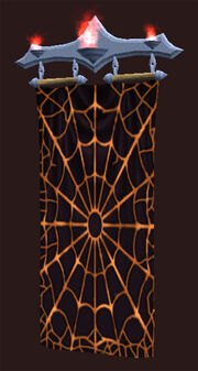 Sinister Web Spider Tapestry