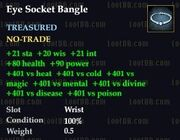 Eye Socket Bangle