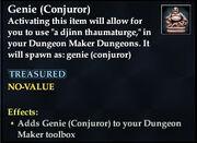 Genie (Conjuror)
