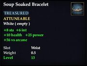 Soup Soaked Bracelet