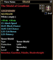 The Shield of Greatfrost