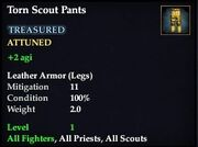 Torn Scout Pants