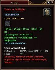 Tunic of Twilight