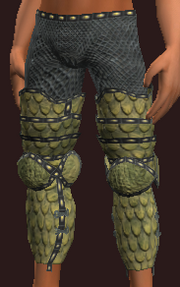 Orclord Brigandine Leggings (Equipped)