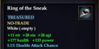 Ring of the Sneak