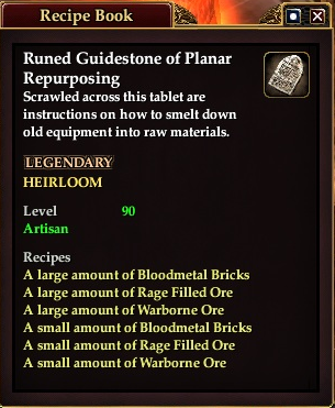 Runed guidstone of planar repurposing