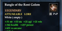 Bangle of the Rent Golem