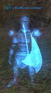 A Redbeard sentinel