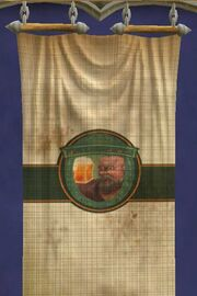 Ale-stained Tapestry of the Gathering (house)