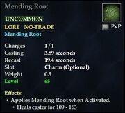 Mending Root