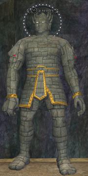 A sentry