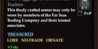 Blue Leggings of the Far Seas Traders