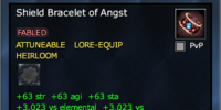 Shield Bracelet of Angst