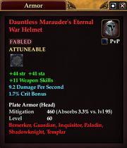Dauntless Marauder's Eternal War Helmet