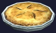 Traditional apple pie (Visible)