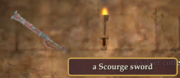 A Scourge sword