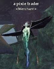 A pixie trader